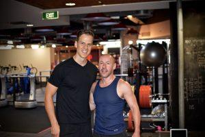 training Michael Woodbury